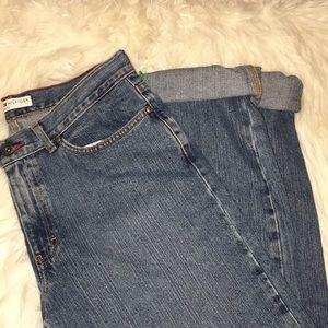 Tommy Hilfiger Cuffed Boyfriend Jeans